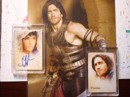 Prince of Persia autograph by DavidDeb