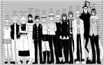 Soul Eater Headcanon Height Chart by Z-Raid