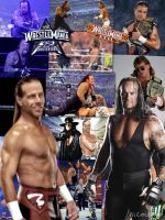Wrestlemania 25 and 26 Collage (Michaels vs Taker) by WWE-Undertaker
