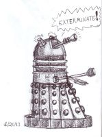 Ah Drew A Dalek by Creative-Dreamr