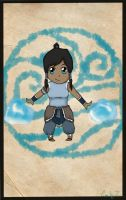 Mini Korra by MelodicArtist