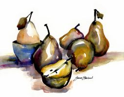 pears in purples by Josterland