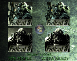 Fallout 3 Icon by artem-u-v
