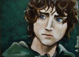 Frodo Baggins by annsterboo