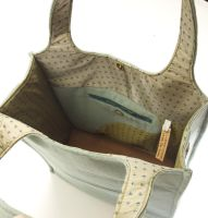 Power Suit Tote Bag 2 inside by ECassier