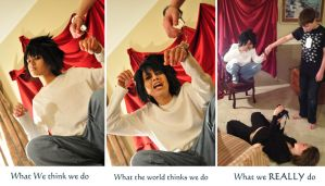 Our Cosplay World... by Theelfinartist