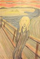 the scream by clare13