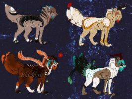 Wolfy Auctions {Open} by Blackbrier-Adopts