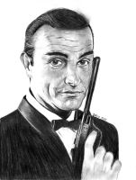Sean Connery by marmicminipark