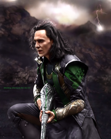 Loki - The Dark World XVII Version I by AdmiralDeMoy