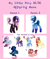 My Little Pony Oc Oc Offspring 4 Auctions CLOSED by Sarahostervig