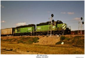 Eastbound at Williston by hunter1828