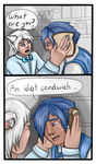 TI: Collab: Idiot Sandwich by grooveysmoothie