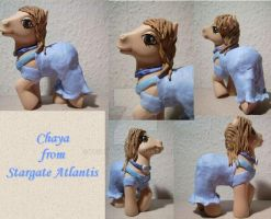 My little Pony Custom Chaya by BerryMouse