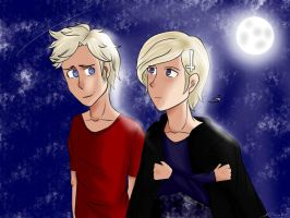 [APH] Redraw- You're more beautiful than the stars by FairyTailForever123