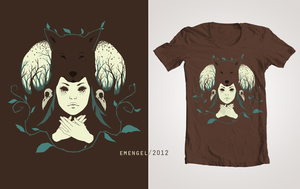 Huntress: T-Shirt Design by emengel