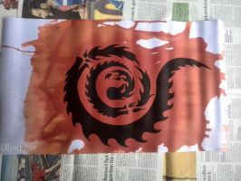 playmat-red mana by Panthera94