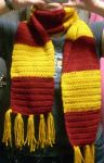 Harry Potter scarf - crochet 2 by cideon