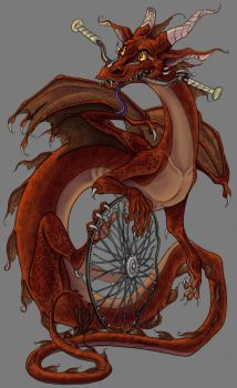 The Bike Wyrm by Emcentric
