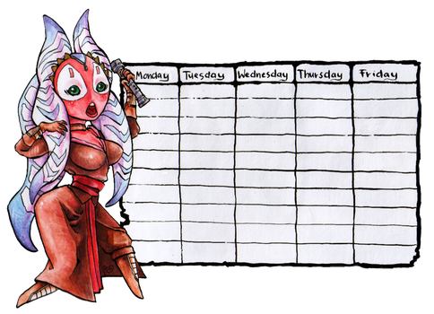 Shaak Ti timetable by ShakSaag