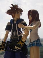 Kairi and Sora 2 by TheSimplyLovely