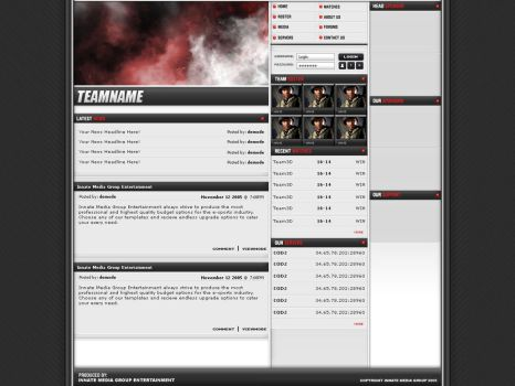 IMG Clan Template by monsteri