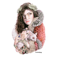 CD|The Love Club EP|Lorde. by Heart-Attack-Png
