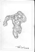Iron Man 2008 sketch by ToddNauck