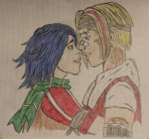 Athena and Janey (Better Quality) by BohemianDragon
