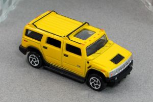 2004 Hummer H2 - yellow t f cotd - Motor Max by Deanomite17703cotd