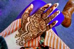Henna flowers, details and bright colours by cydienne