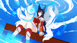 Ahri by SAVIKO
