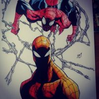 Superior Spidey by red-arkana