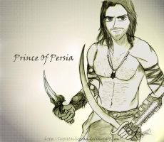 Prince Of Persia by LupittaChopraa