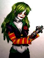 The Joker's Daughter 2 by underneath-the-paint