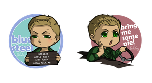 Dean faces stickers by Poledrey