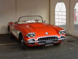 Chevrolet Corvette [1958] by someoneabletofindana