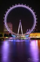 London Eye Profile by gdphotography