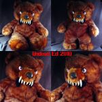 Lester the Bear plush by Undead-Art