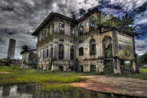 ...the haunted mansion by SAMLIM