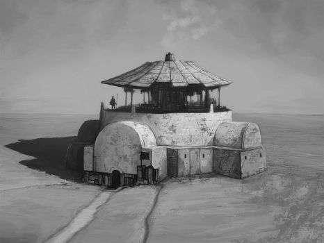 Commission: Desert Cookhut by DanilLovesFood