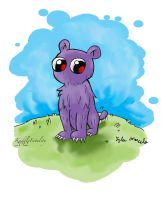 Rat Creature (color) by KuddlyFatality