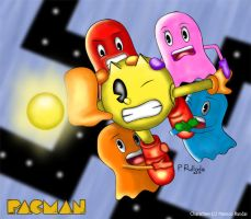 Pac-Man by blaze35