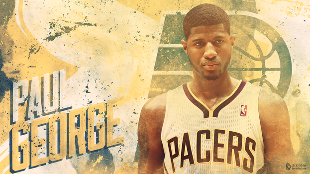 Paul George Wallpaper by lucasitodesign