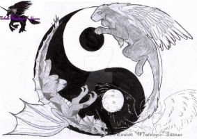 Yin and Yang by Windsinger