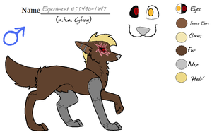 .:Experiment #55490-1347 Ref:. by HomestuckObsessed
