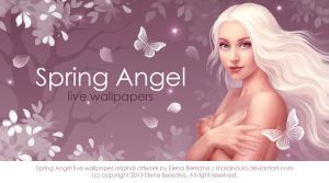 Spring Angel (live wallpaper) by sharandula