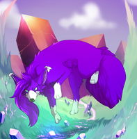 Crystalborne by AkaPanuka
