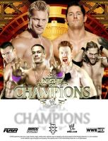 WWE Night Of Champions Poster by Gogeta126
