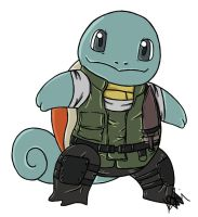 Squirtle Redfield by RaiDoodles